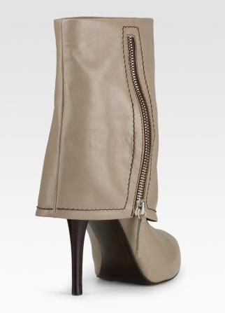 Exotic Excess - Shoe of the Day: Giuseppe Zanotti Foldover Boots :  leather foldover boots shoes
