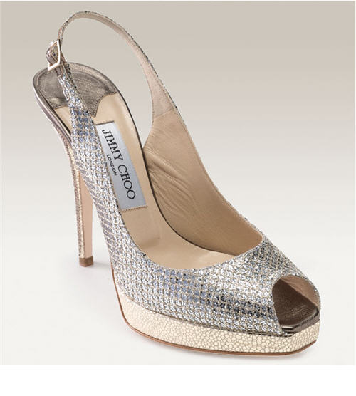 Exotic Excess - Shoe of the Day: Jimmy Choo 'Clue' Glitter Slingback Pump :  platform clue heels shoes