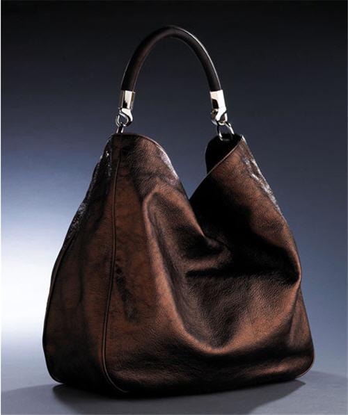 replica bags bangkok - Yves Saint Laurent Roady Metallic Tote