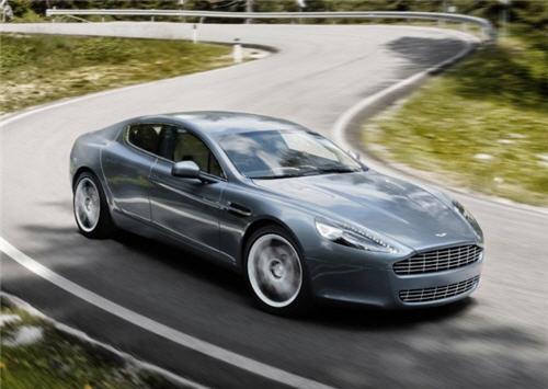 aston-martin-rapide-4 & Aston Martin Rapide Debuts New Four-Door Model