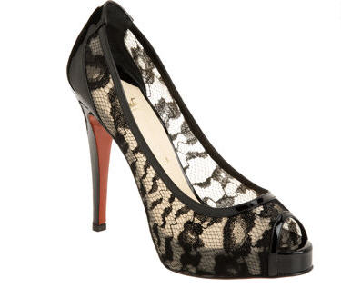 Exotic Excess -   Shoe of the Day: Christian Louboutin Ambro :  pumps shoe shoes womens