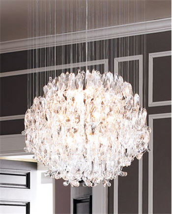 The Glass Pendant Light ($995) from the Neiman Marcus home line can make any