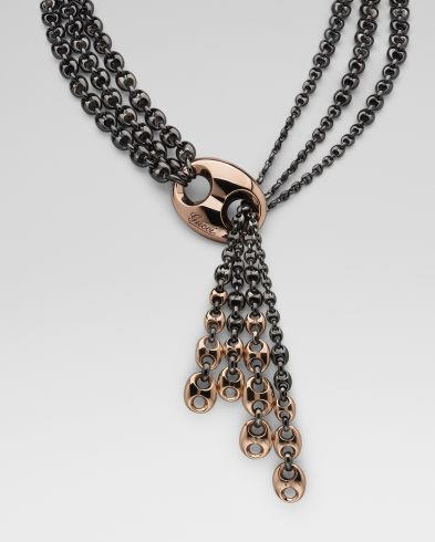 gucci-18k-rose-gold-silver-lariat-necklace