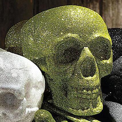 martha-stewart-glittered-skull-and-bones-set-3