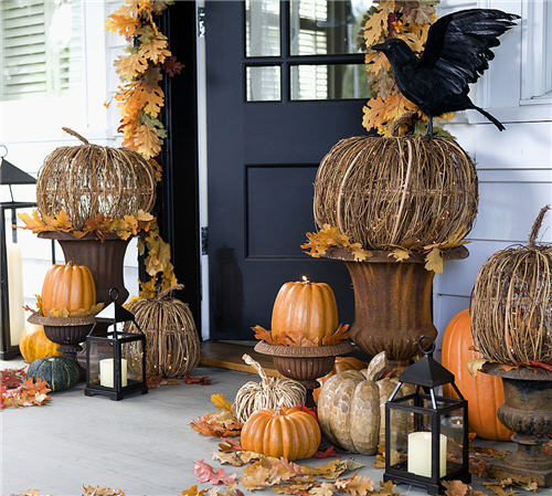 pumpkin candles by pottery barn. Black Bedroom Furniture Sets. Home Design Ideas
