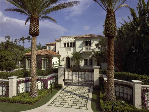 $17.5 Million Venetian Style Villa in Palm Beach Florida