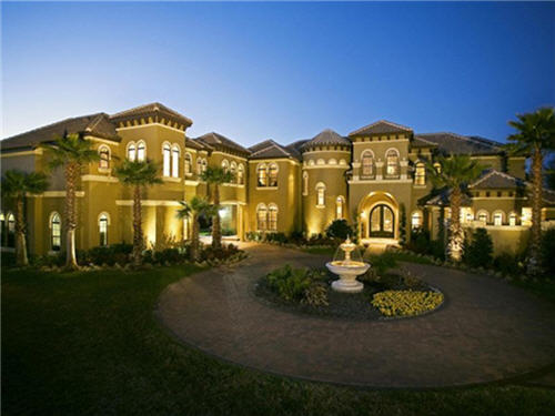 $2.3 Million Mediterranean Estate in Sanford Florida