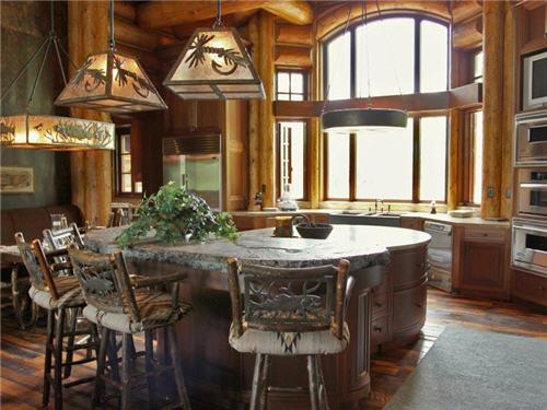$25.5 Million Mountain Estate in Wilson Wyoming 7