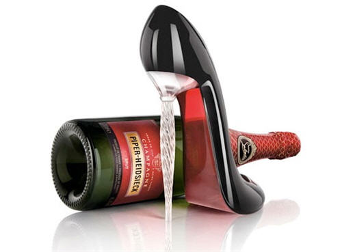 Exotic Excess -   A Christian Louboutin To Drink Out Of