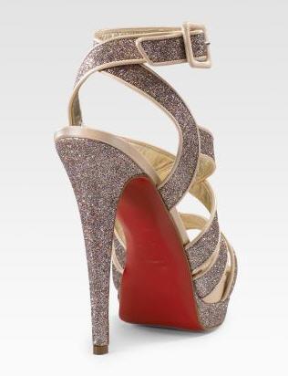 Christian Louboutin Straratata Glitter Platform Sandals 2