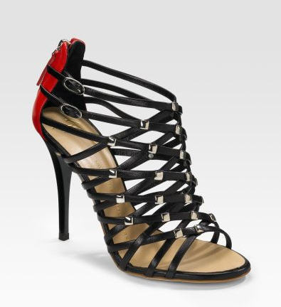 Exotic Excess -   Shoe of the Day: Giuseppe Zanotti Strappy Leather Sandals