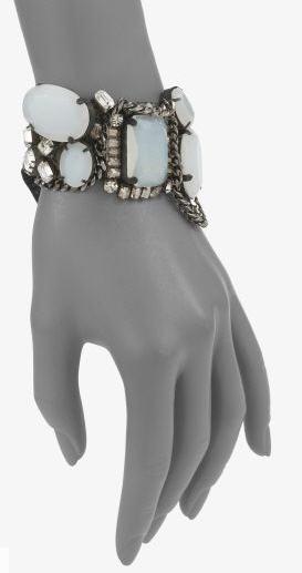 Vera Wang Moonstone & Crystal Bracelet 2