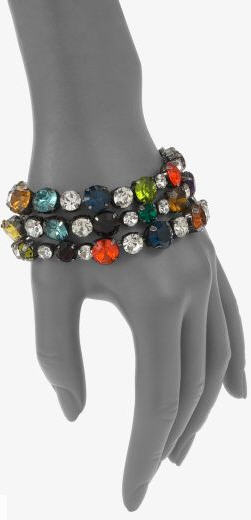 Vera Wang Multi-Color Rhinestone Bracelet 2