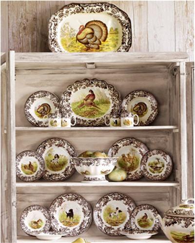 & Thanksgiving Entertaining: Woodland Dinnerware