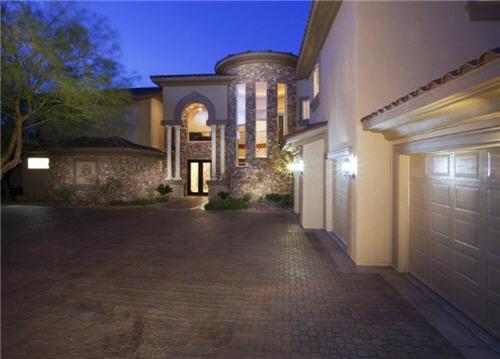 $1.6 Million Dramatic Estate in Henderson Nevada