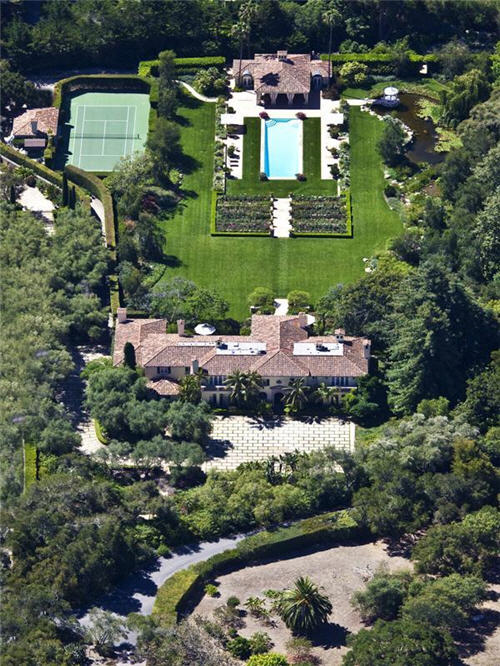 $19.5 Million Mediterranean Style Estate in Santa Barbara California 17