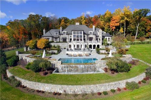 $22 Million English Manor in Mahwah New Jersey