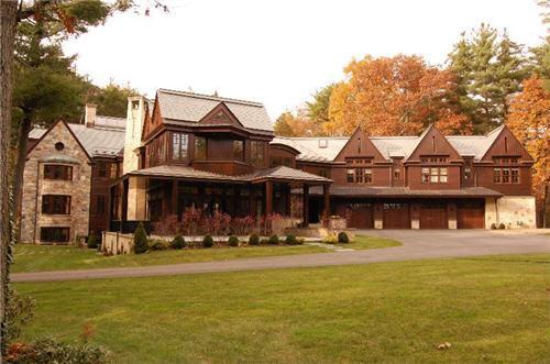 $24.5 Million Arts & Crafts Inspired Estate in Weston Massachusetts