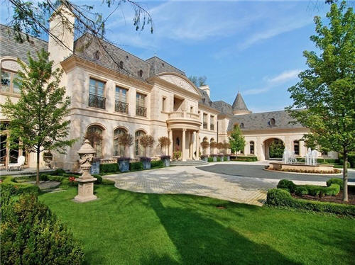 Estate Of The Day 28 Million French Mansion In Chicago Illinois