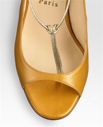 Christian Louboutin Spritney T-Strap Sandals 3