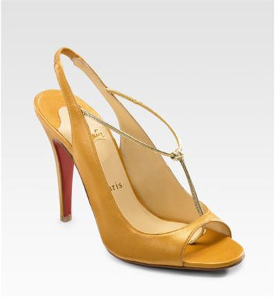 Christian Louboutin Spritney T-Strap Sandals