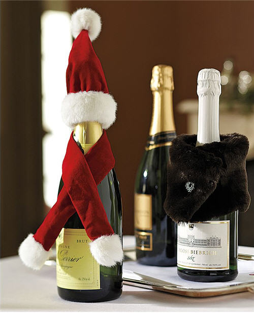 Christmas Wine Bottle Accessories