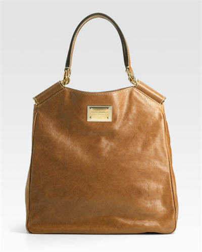 Dolce & Gabbana Miss Sicily Leather North South Tote