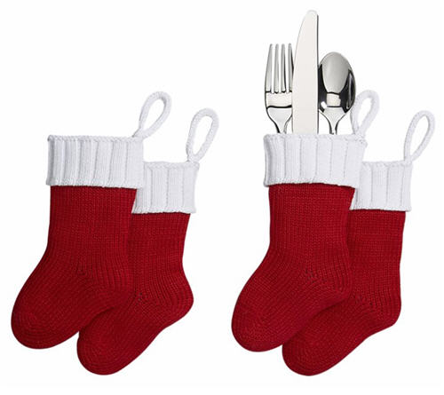 Flatware Stockings Set of Four 2