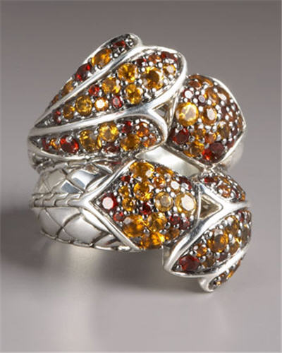 John Hardy Koi Twist Ring