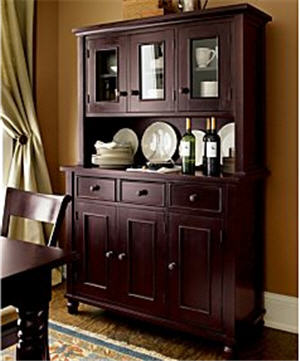 For Your Elegant Dining Room: Kipling Buffet and Hutch Top