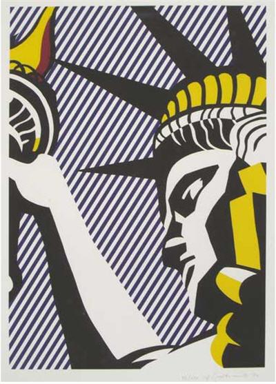 Roy Lichenstein's I Love Liberty