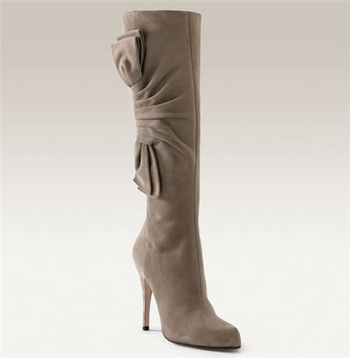 Valentino 'Ever' Bow Detailed Knee High Boot