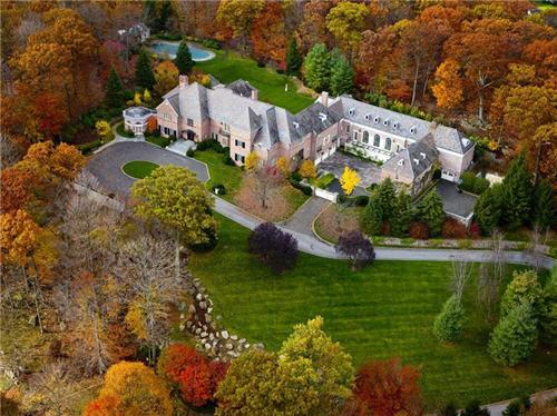 $16 Million Elegant Hilltop Estate in Armonk New York