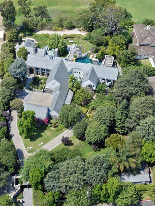 $16.5 Million Luxe Estate in Santa Monica California