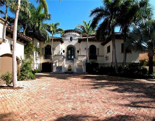 $18.9 Million Mediterranean Estate in Golden Beach Florida