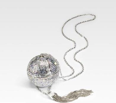 Judith Leiber Discoball Sphere Clutch
