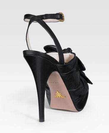 Prada Knotted Sandals 2
