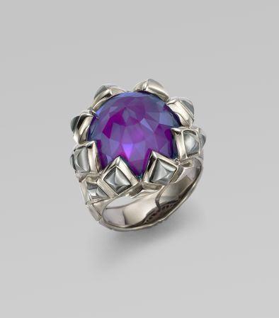 Stephen Webster Purple Sugalite & Sterling Silver Ring
