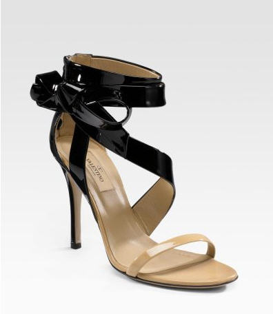 Valentino Glamorous Bow Sandals