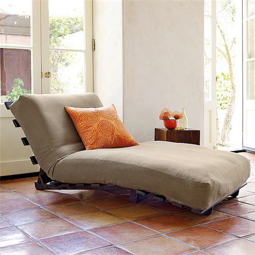 West Elm Futon Lounger
