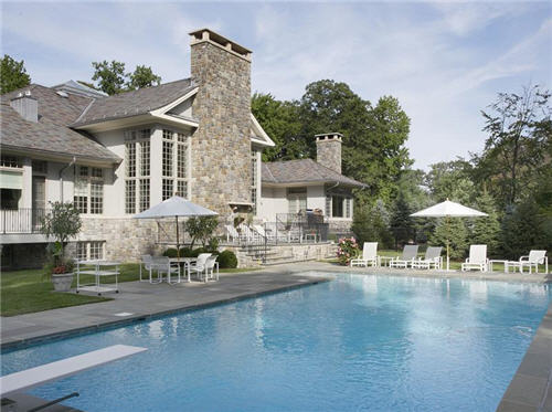 $12 Million Colonial Manor in Alpine New Jersey 8
