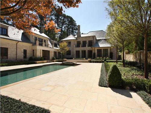 $12 Million Custom Designed Estate in Atlanta Georgia
