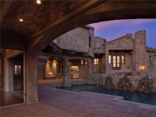 $12.9 Million Old World Ambiance in Scottsdale Arizona