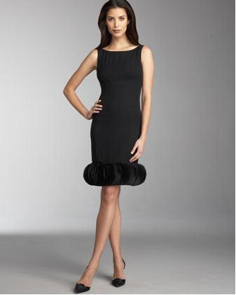 Armani Collezioni Pieced Dress