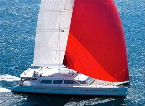 Charter Virgin Founder Richard Branson's Catamaran, the Necker Belle