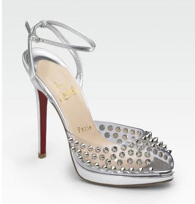 Christian Louboutin Jeannette Spiked Sandals