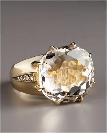 H. Stern Moonlight Crystal Ring