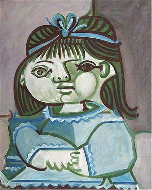 Never Before Exhibited Pablo Picasso Portrait at Heather James Fine Art