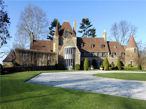 Estate Of The Day 33 Million Pre War French Normandy Estate In Greenwich Connecticut on Luxury Mansion Home Plans