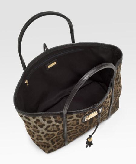 Dolce   Gabbana Miss Escape Leopard-Print Tote 69480be7ba0ca